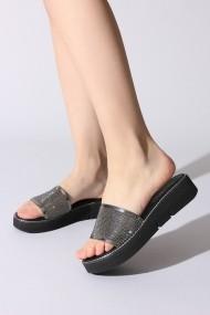 Papuci ROVIGO 107013-01 argintiu