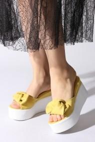 Papuci ROVIGO 168038-02 mustar