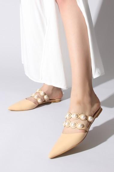 Papuci ROVIGO 563015-11 nude - els