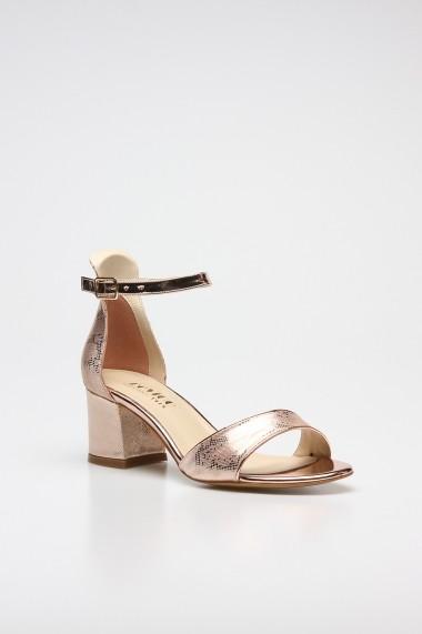 Sandale cu toc ROVIGO 0776004-02 auriu