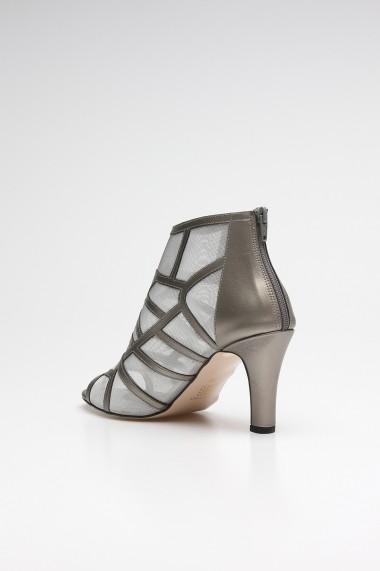 Sandale cu toc ROVIGO 10631201-01 argintiu
