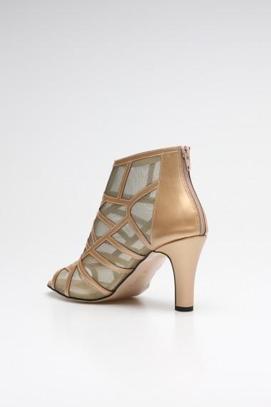 Sandale cu toc ROVIGO 10631201-02 auriu