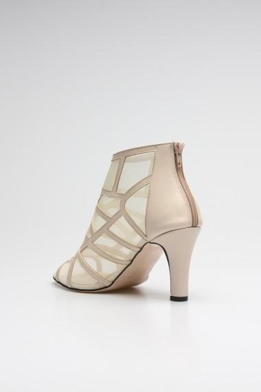 Sandale cu toc ROVIGO 10631201-03 crem