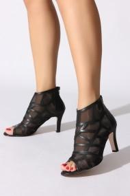 Sandale cu toc ROVIGO 10631201-04 negru