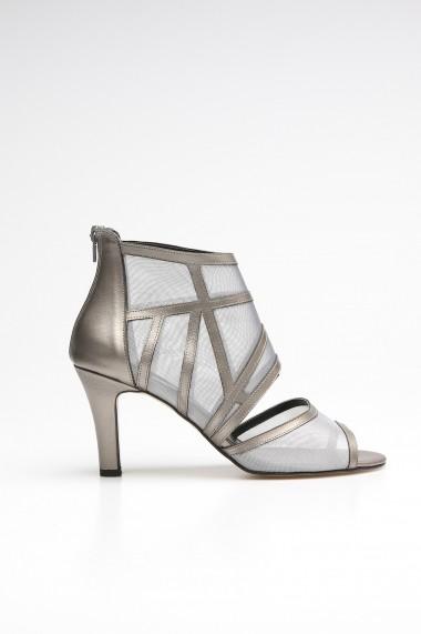 Sandale cu toc ROVIGO 10631207-01 argintiu