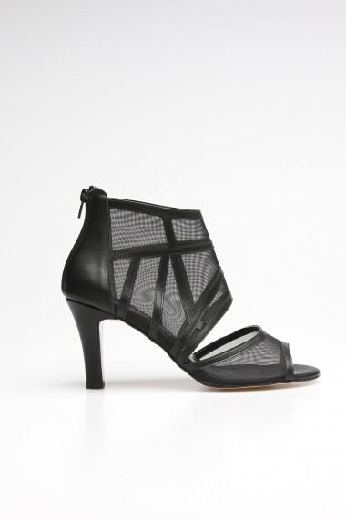 Sandale cu toc ROVIGO 10631207-04 negru