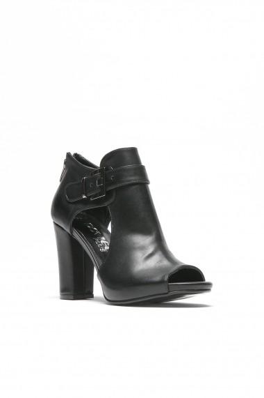 Sandale cu toc ROVIGO 5634564-02 negru