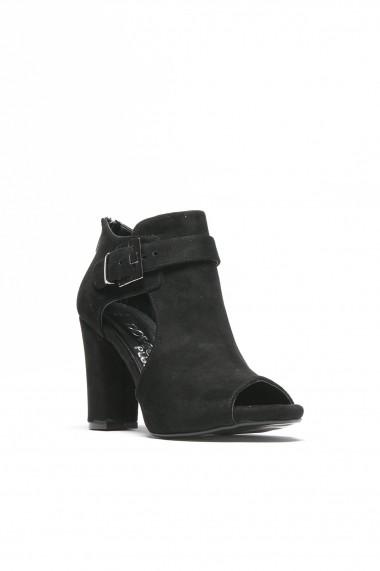 Sandale cu toc ROVIGO 5634564-03 negru - els
