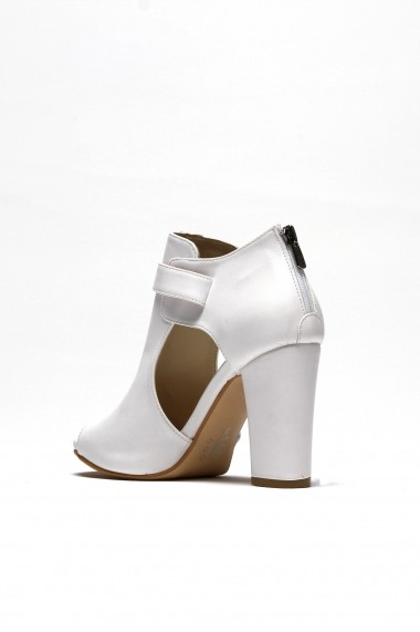 Sandale cu toc ROVIGO 5634564-05 alb