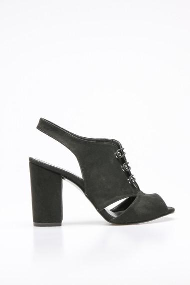Sandale cu toc ROVIGO 5872214-02 negru