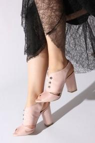 Sandale cu toc ROVIGO 5872214-04 roz