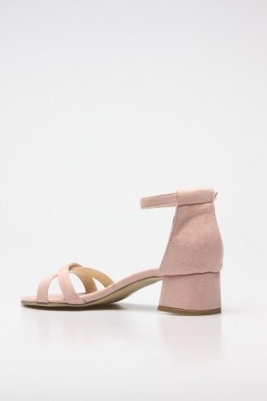 Sandale cu toc ROVIGO 5872223-01 roz