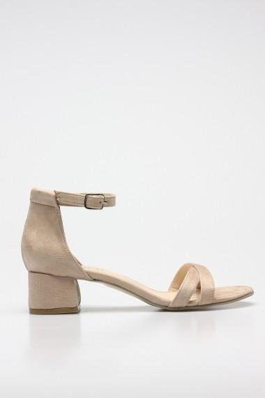 Sandale cu toc ROVIGO 5872223-05 nude