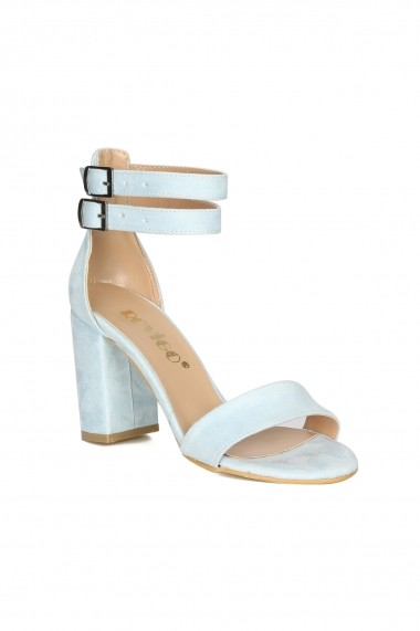 Sandale cu toc ROVIGO 900251-05 albastru