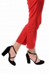 Pantofi cu toc SAPIN 23445 Negru