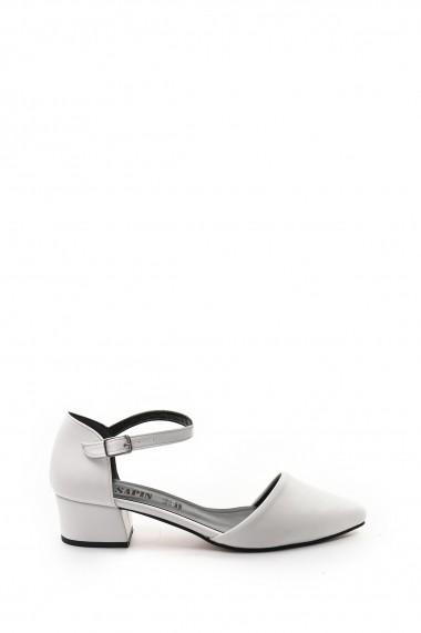 Pantofi cu toc SAPIN 23447 Alb