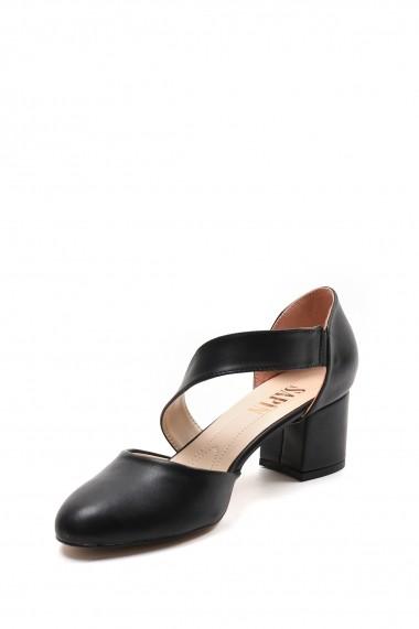 Pantofi cu toc SAPIN 23446 Negru