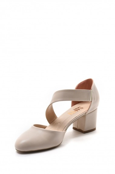 Pantofi cu toc SAPIN 23446 Bej
