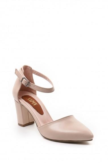 Pantofi cu toc SAPIN 23017 Bej