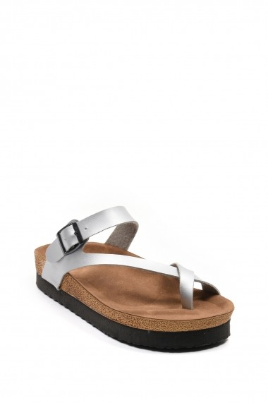 Papuci SAPIN 23404 Argintiu - els
