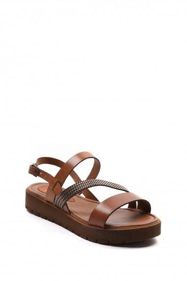 Sandale plate SAPIN 23471 Bej - els
