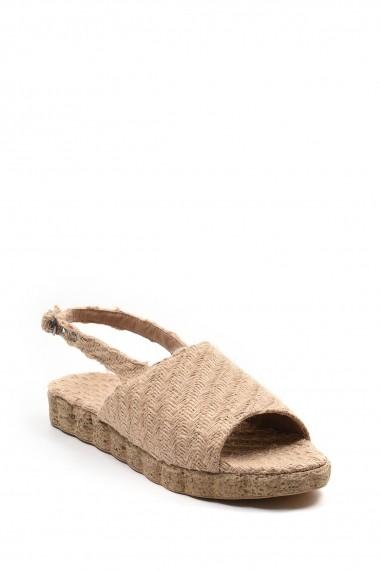 Sandale plate SAPIN 23474 Bej - els