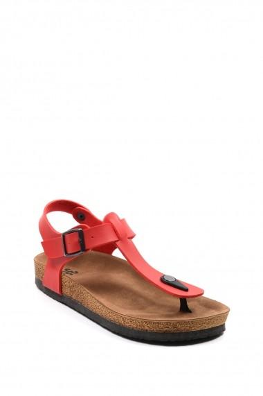 Sandale plate SAPIN 23405 Rosu