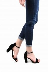 Sandale cu toc SAPIN 23013 Negru