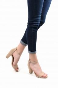 Sandale cu toc SAPIN 23013 Bej
