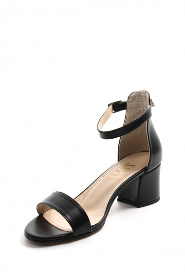 Sandale cu toc SAPIN 23052 Negru
