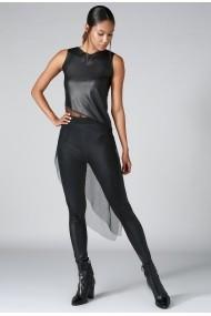 Блуза DONNA ROSSA OYO-BD2299-BLACK_1 Черен