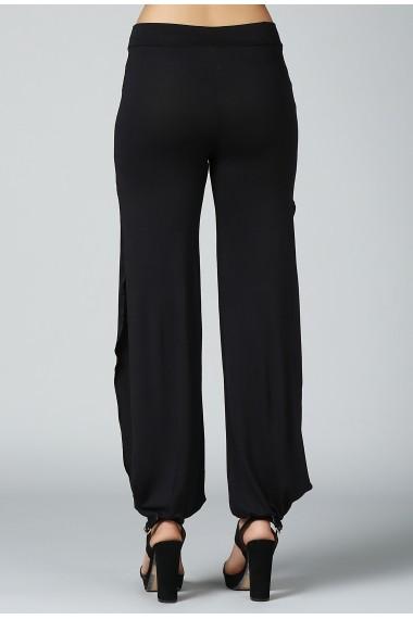 Pantaloni harem DONNA ROSSA DP3005 Negru