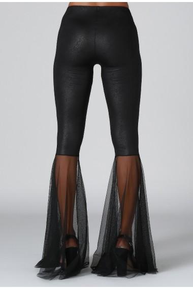 Pantaloni largi DONNA ROSSA DP3008 Negru