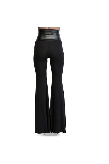 Pantaloni largi DONNA ROSSA DP3010 Negru