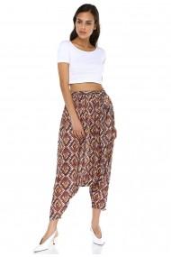 Pantaloni harem DONNA ROSSA DP3015 Print
