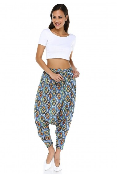 Pantaloni harem DONNA ROSSA DP3016 Print