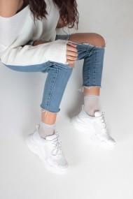 Pantofi sport casual Inan Ayakkabi INAY5623BCF alb