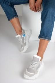 Pantofi sport casual Inan Ayakkabi INAY5628GSTGF Gri