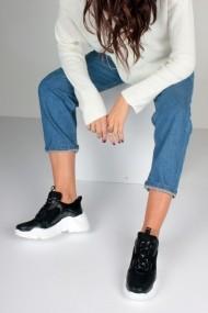 Pantofi sport casual Inan Ayakkabi INAY5635SCF negru
