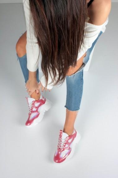 Pantofi sport casual Inan Ayakkabi INAY5636KCF Rosu
