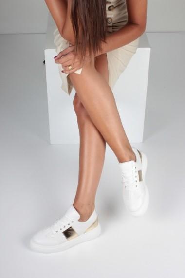 Pantofi sport casual Inan Ayakkabi INAY5655BYDGD alb