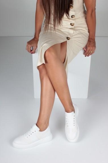 Pantofi sport casual Inan Ayakkabi INAY5655BYZDB alb