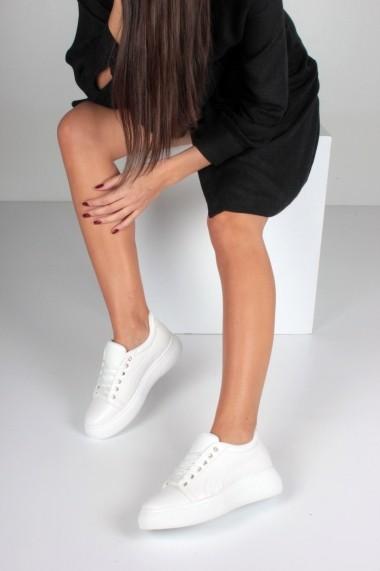 Pantofi sport casual Inan Ayakkabi INAY5673BYCR alb