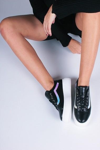 Pantofi sport casual Inan Ayakkabi INAY66SYHCZ negru - els