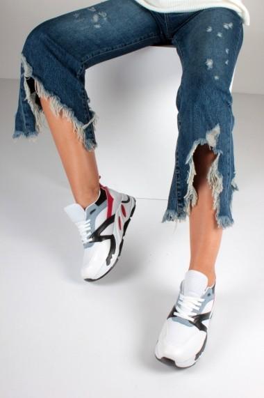 Pantofi sport casual Inan Ayakkabi INAY96235BCMS Alb