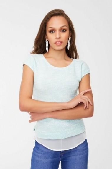 Tricou New Now 19Y233802 Bleu - els