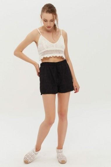 Pantaloni scurti New Now 19Y001118 Negru