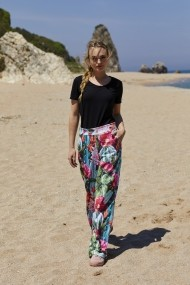 Pantaloni Five Fiction FF10092 Floral - els