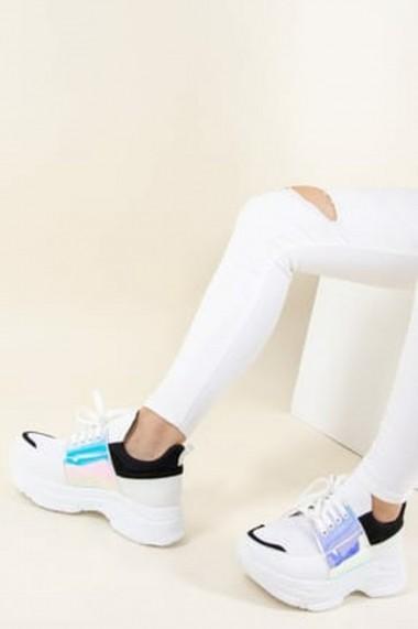 Espadrile Fox Shoes F367094249 Alb