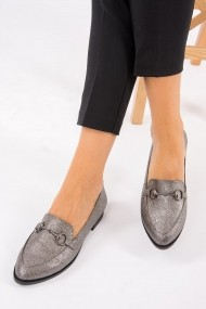 Espadrile Fox Shoes G777711209 Argintiu